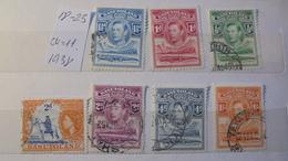 Basutoland 1938 Lot Of 7 Stamps Cv 11.00 - Briefmarken
