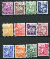 6024     ALGERIE   N° 389/99**  Série Courante   1964-65  TTB - Argelia (1962-...)