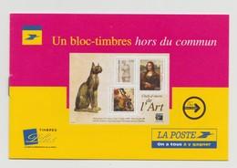 """France : Notice De Présentation Du Bloc """"Chef D'oeuvre De L'art"""" - 1999 - - France"""