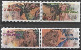 2003 VATICAN 1318-21 ** Mosaique, Chevan, Panthère, Dragon - Vatican