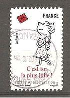 France 2009 Oblitéré Autoadhésif  Y T  N° 367 - Oblitéré  CACHET ROND - Francia