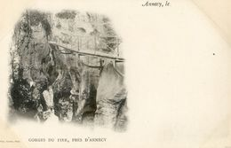 Annecy - Carte Nuage - Grottes Du Fier - Annecy