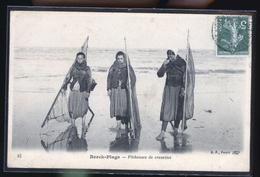 BERCK PLAGE PECHEUSES - Pêche
