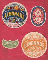 Froyennes ( Tournai ) - Brasserie G. Cousinne .... 4 étiquettes Authentiques - Tournai