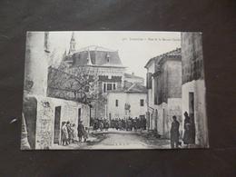 CPA 30 Gard Jonquières Rue De La Maison Carrée  TBE - France