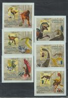 S61. MNH Guine-Bissau Nature Animals Prehistoric Animals Imperf - Prehistorics