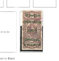 Nicaragua 1907 Official Tipo Reg.Revenue  Scott.O186 Used See Scans On Scott.Album - Nicaragua
