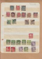 DANEMARK   Lot De  25 Timbres De 1870  A 1947  Obliteres - Danemark