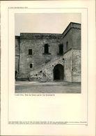 KD2111 - Stich Druck - 1937 - Castel Oria - Reste Des Palas Aus Der Zeit Friedrichs II - Lucera Festung Oberha - Estampes & Gravures