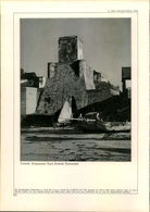 KD2119 - Stich Druck - 1937 - Temoli Sogenannter Turm Friedrich Barbarossas - Bari Blick Auf Die Altstadt Mit - Estampes & Gravures