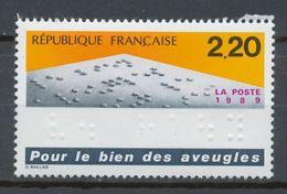 TIMBRE - FRANCE - 1989 -  - NEUF - Yvert 2562 - France