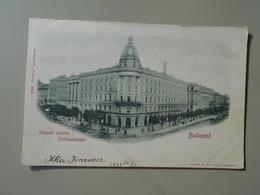 HONGRIE BUDAPEST NEMZETI SZINHAZ NATIONALTHEATER  VOYAGEE EN 1899 - Hongrie