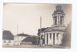 Windau Ventspils Church Ca 1916 OLD REAL PHOTO 2 Scans - Lettonie