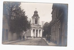Windau Ventspils Church Kirche Ca 1916 OLD REAL PHOTO 2 Scans - Lettonie
