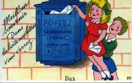 Dax. Carte à Système. Dans La Boite Aux Lettres Vous Verrez.... - Dax