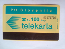 100 Units Blank Reverse - Eslovenia