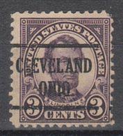 USA Precancel Vorausentwertung Preo, Locals Ohio, Cleveland 555-225 - Vereinigte Staaten