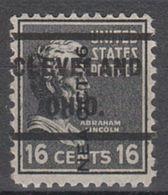 USA Precancel Vorausentwertung Preo, Locals Ohio, Cleveland 232, Dated - Vereinigte Staaten