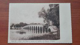 Ponte In Marmo Nel Laghetto Del Palazzo D'Estate - Cina