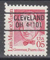 USA Precancel Vorausentwertung Preo, Locals Ohio, Cleveland L-10 HS - Vereinigte Staaten