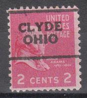USA Precancel Vorausentwertung Preo, Locals Ohio, Clyde 701 - Vereinigte Staaten