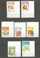 Vietnam 1990 , Used Stamps , Set  IMPERF. DOGS - Vietnam