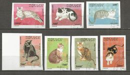 Vietnam 1990 , Used Stamps , Set  IMPERF.  Cats - Vietnam