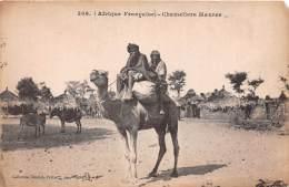 BURKINA FASO Haute Volta  Chamelire Maures (scan Recto-verso) FRCR90962 - Burkina Faso