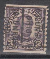 USA Precancel Vorausentwertung Preo, Locals Ohio, Columbus 600-162 - Vereinigte Staaten