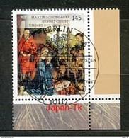 GERMANY Mi.Nr. 3184 Schätze Aus Deutschen Museen -  ESST -BERLIN - Eckrand Unten Rechts - Used - Gebraucht