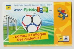 """France : RARE !!! Carnet """"Avec FIDELOFOOT  ... Passez à L'attaque Des Cadeaux"""" - France"""