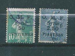 Colonie Francaise  Syrie,  Timbres De 1922/23  N°86/87 Oblitérés - Syria (1919-1945)
