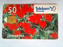 50 Units Flowers - Eslovenia