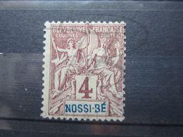 """VEND BEAU TIMBRE DE NOSSI - BE N° 29 , """" B """" BRISE , (X) !!! - Nossi-Bé (1889-1901)"""