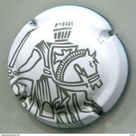 CAPSULE MUSELET CHAMPAGNE TAITTINGER REIMS (marron Sur Blanc) - Taittinger
