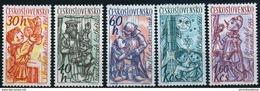 ** Czechoslovakia 1961 - Mi 1275-1279 MNH ** - Ungebraucht
