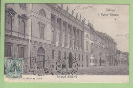 Milano : Palazzo Saporiti, Corso Venezia. Milan. 2 Scans. Edition ? - Milano (Mailand)