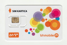 BOSNIA AND HERZEGOVINA BHmobile GSM SIM MINT - Bosnia