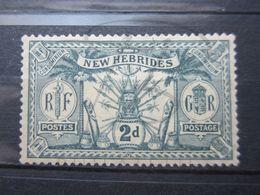 VEND BEAU TIMBRE DES NOUVELLES-HEBRIDES N° 71 , X !!! - English Legend