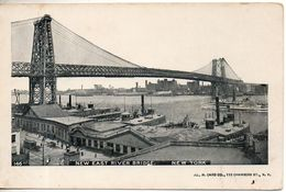 Etats Unis. New York, New East River Bridge - Ponts & Tunnels