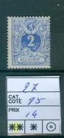 27  Xx - 1869-1883 Leopold II