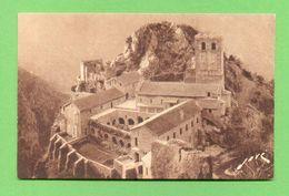 CPA FRANCE 66  ~  CASTEIL  ~  766  ST-MARTIN-du-CANIGOU - L'Abbaye  ( Jové )  2 Scans - Autres Communes