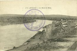 84 Vaucluse   AVIGNON   Les Bords Du Rhone - Avignon
