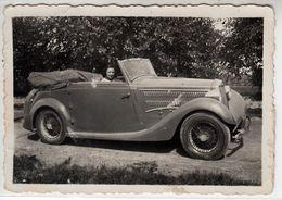 AUTO CAR VOITURE FIAT? LANCIA? CABRIO - FOTO ORIGINALE - Cars