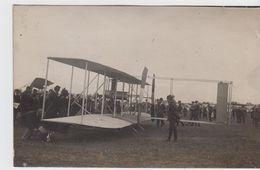 AVIONS - Carte Photo Prise Certainement Au Meeting De REIMS De  1910 Par Gaston  Goebel De Reims - ....-1914: Précurseurs