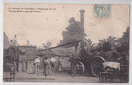 LAGRANGE-VIANNE - La Moisson En Gascogne - Dépiquage Du Blé - Batteuse - Battage - Matériel Agricole - Agriculture - France