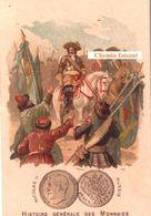 Chromo PHOSCAO - Histoire Des Monnaies : RUSSIE NICOLAS II  -  Scans Recto-verso - Chromos