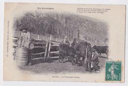 Série En Auvergne - Au Parc - La Traite Des Vaches - Gély Aurillac 32 - Non Classés