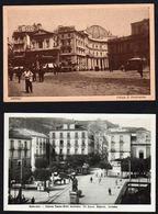 NAPOLI Et SORRENTO (Province De Naples) Bon Lot De 3 Belles Cartes: Piazza S. Ferdinando, Il Corso Duomo, Piazza Tasso. - Napoli (Naples)