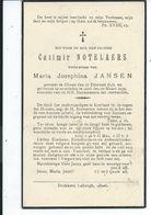 B.P.  OLMEN NOTELAERS CASIMIR 1846 - 1939 GEEL - Religión & Esoterismo